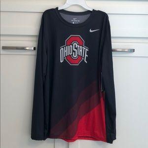 Men's Nike dry fit Ohio state shirt sz large